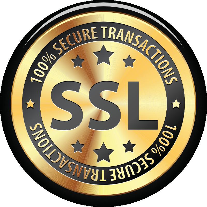 100% SSL verschlüsselte Verbindung